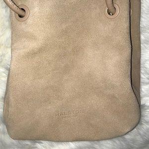 ea569a6a73 Halston Heritage Bags - Halston Heritage Alism Taupe Suede Bucket Bag